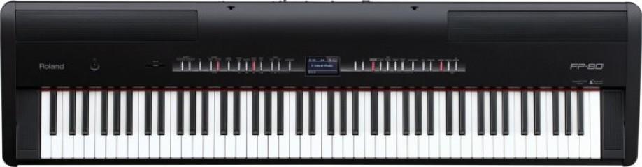 Цифровое фортепиано Roland FP-80-BK
