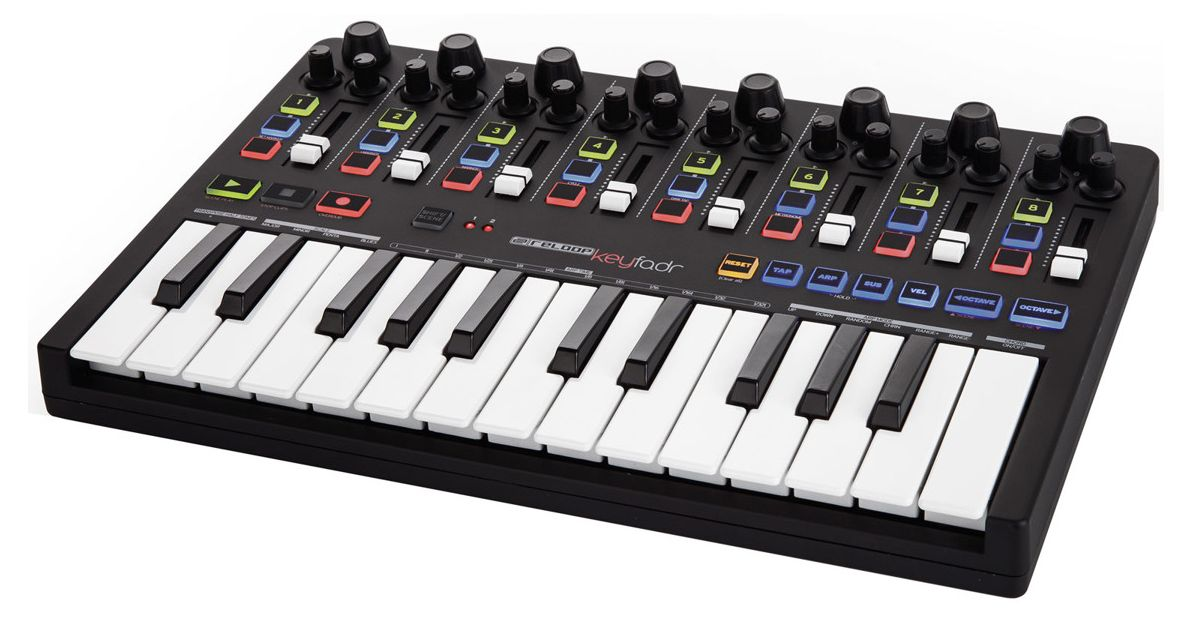 Midi-клавиатура Reloop Keyfadr: фото